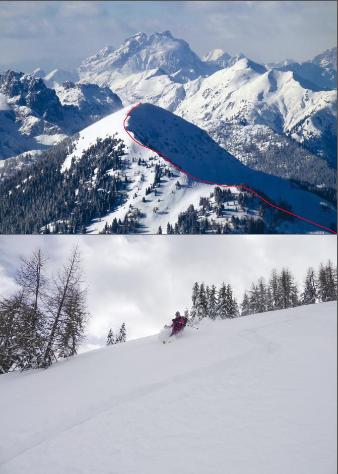 27 Scialpinismo Alpi Carniche