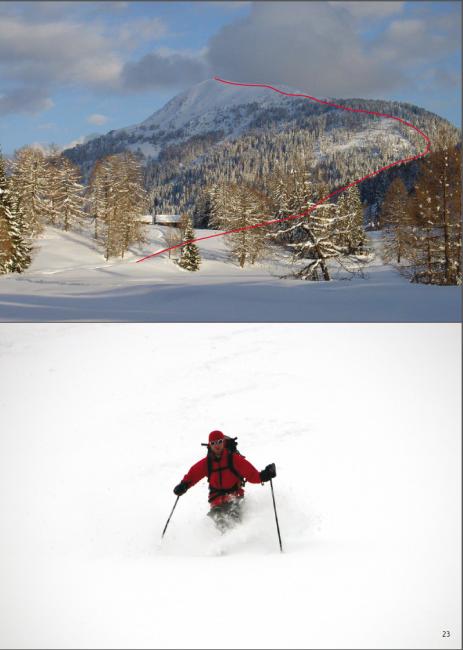 dalla guida Scialpinismo nelle Alpi Carinche - da San Candido a VIllach - ed. Versante Sud