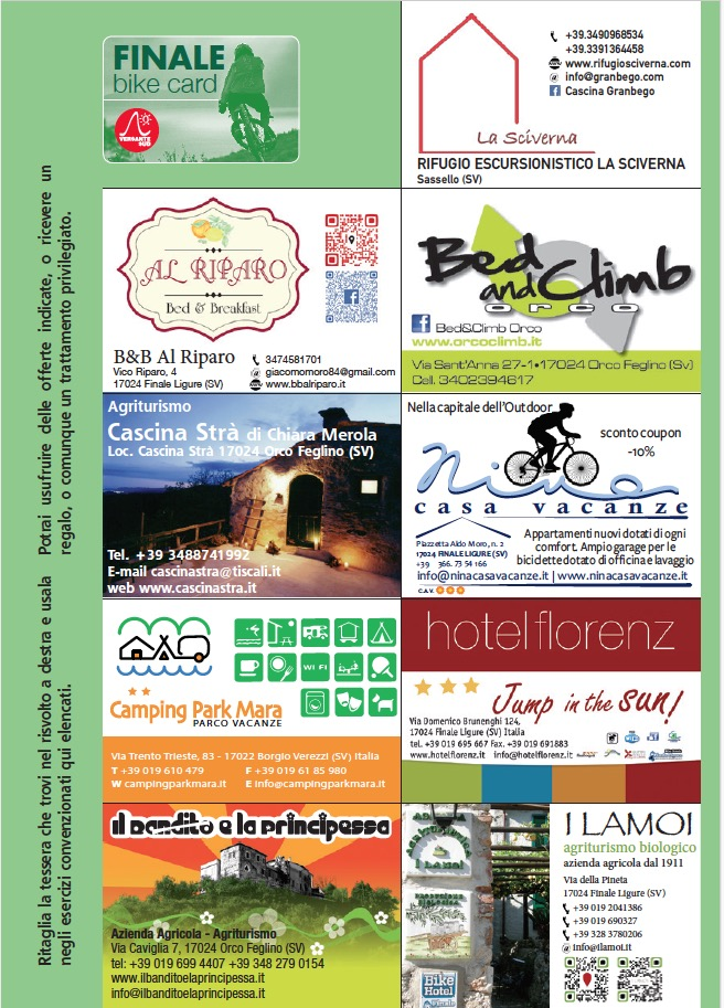 mountain bike a finale ligure - bike card