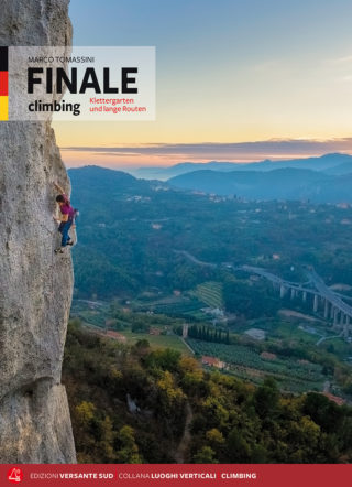 "FINALE climbing Klettergarten und lange Routen. Marco ""Thomas"" Tomassini"
