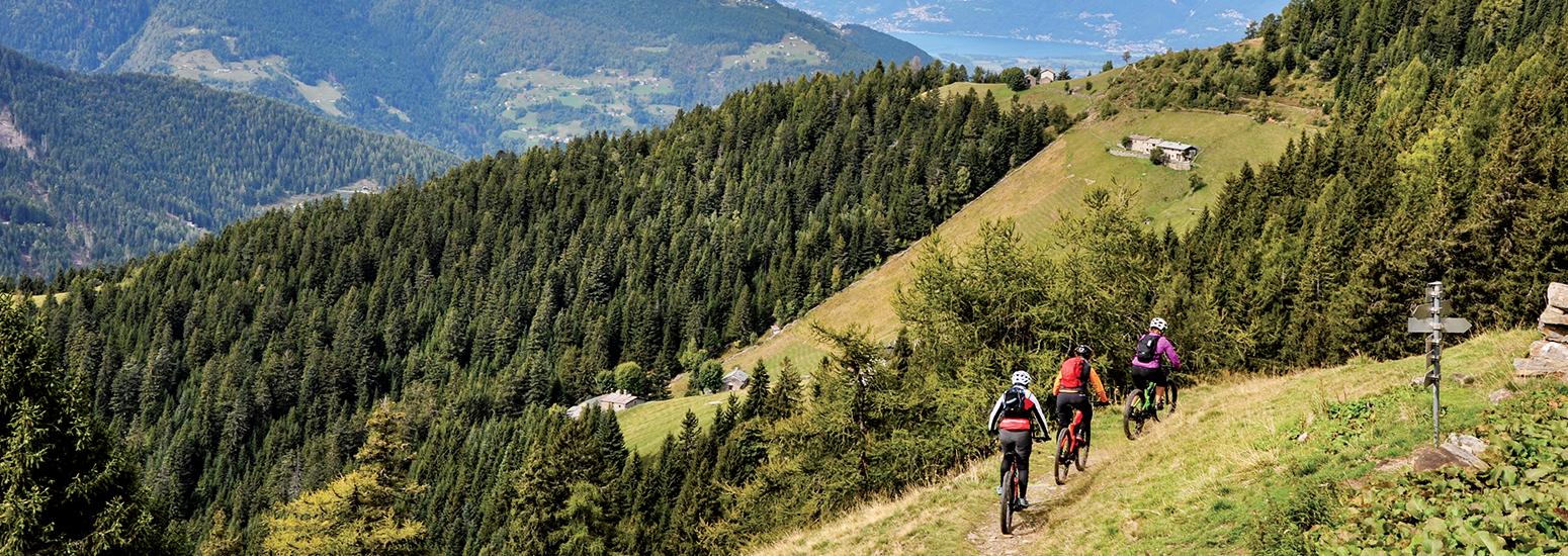 Mtb dal lago di Como